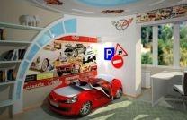 3D Дизайн детской комнаты для мальчика