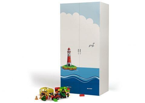 Двухдверный шкаф Ocean Advesta