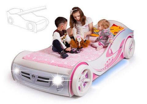 кровать машина принцесса адвеста