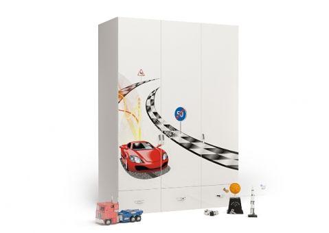 Трёхдверный шкаф Formula Advesta