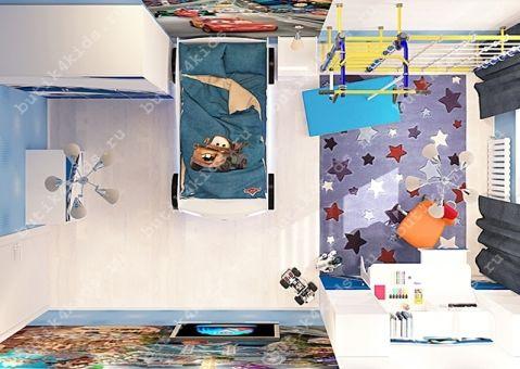 Трёхдверный шкаф La-Man