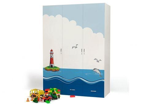 Трёхдверный шкаф Ocean Advesta