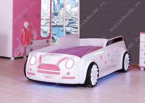 Кровать машина Mini Cooper