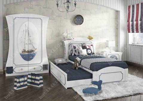 Кровать с изголовьем Регата