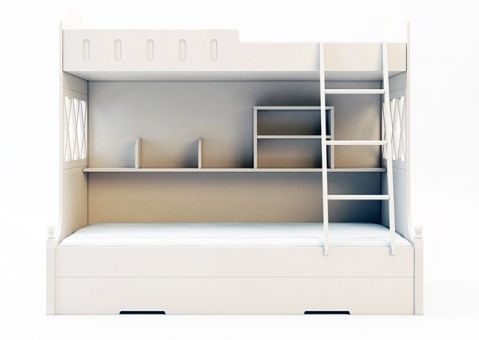 Двухъярусная кровать с выдвижным ящиком Арриго