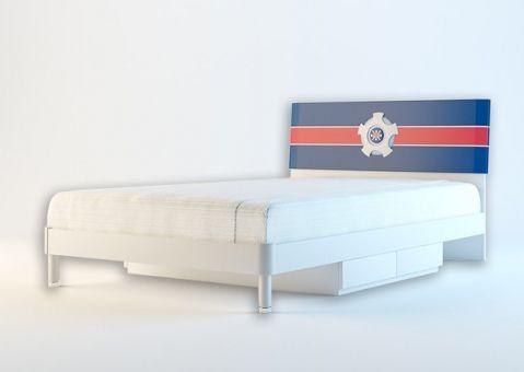 Детская кровать с ящиками Ливио (200x120)