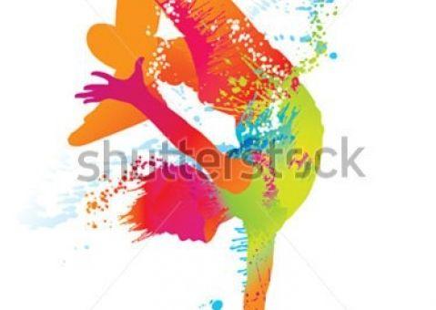 Фотообои Цветной денсер