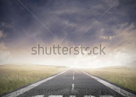 Фотообои Дорога START