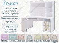 Стол угловой компьютерный Ромео RM-171