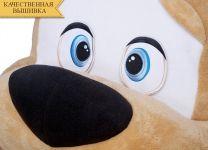 Кровать-игрушка Котенок Big Plushik серый с ящиком