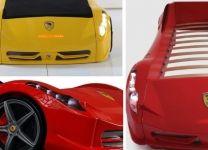 Кровать машина Ferrari F1
