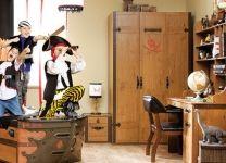 Шкаф 3-х дверный Black Pirate 20.13.1002.00