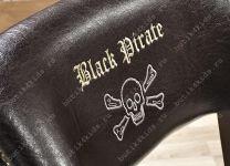 Стул капитана Black Pirate AKS-8461