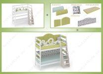 Двухъярусная кровать Совы