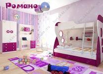 Детская мебель Романо для девочки