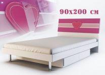 Кровать Виолетта 90x200
