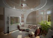 Дизайн: Гостиная с аквариумом