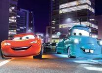 Фотообои детские Тачки (Cars): МакКуин и Мэтр