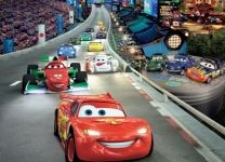 Фотообои детские Тачки (Cars): McQueen гонки