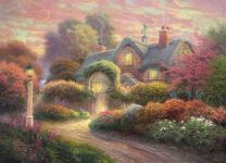 Фотообои-картина Дом, милый дом