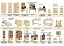 Кровать Саванна Меблик 190х90, 190х120, 160х80