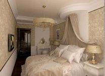 Дизайн: Спальня с балдахином