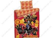 Комплект постельного белья Transformers Red