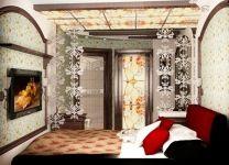 Дизайн: Спальня с Витражами