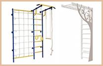 Детские спортивные комплексы, уголки и стенки для дома