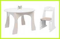 Детский столик и стульчик для малышей