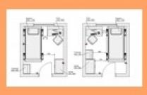 Схематичная расстановка мебели