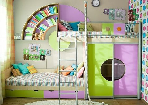 Кровать Выше радуги
