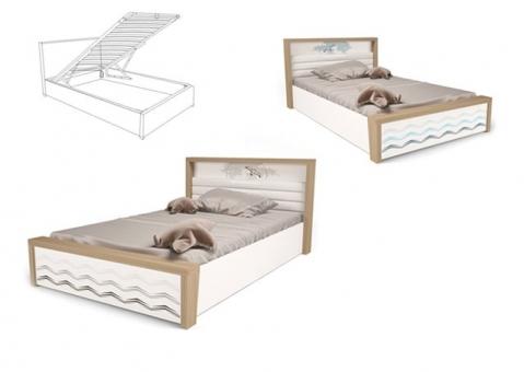 Детская кровать MIX OCEAN ABC-King №5 с подъемным механизмом