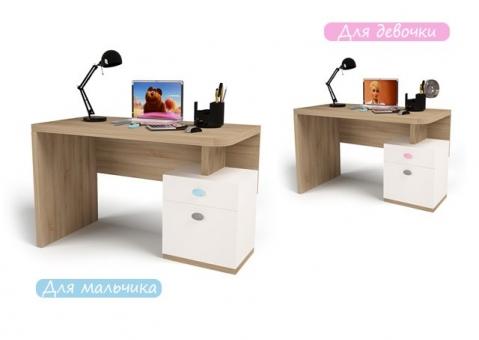 Детский стол без надстройки MIX ABC-King