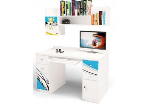 Полка для письменных столов ЛаМан ABC-King