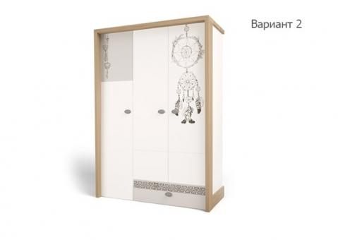 Шкаф трехдверный MIX Ловец снов ABC-King этно