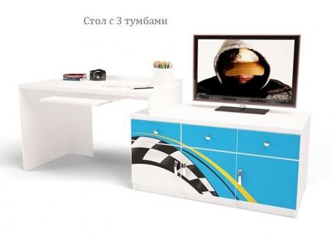 Стол модульный ЛаМан ABC-King для мальчика