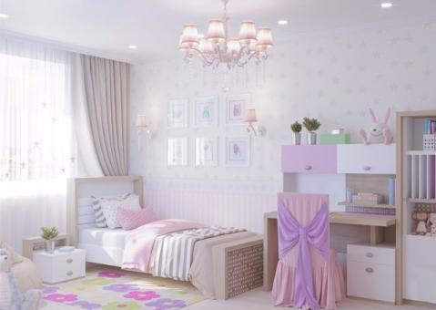 Стол с надстройкой MIX ABC-King розовый и голубой
