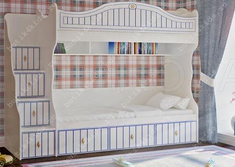 Двухъярусная кровать Капитан К-05