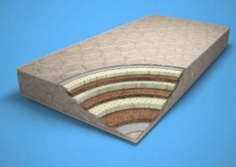 Двусторонний латекс матрас Мария Ultra-Bebi толщиной 10 или 15см