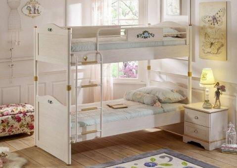 Двухъярусная кровать Flora Cilek SLF-1401