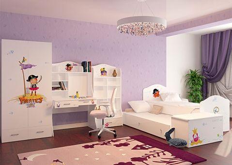 Детская кровать Пиратка Адвеста 190х90, 160х90