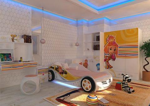 Детская мебель Фиксики Симка и Нолик