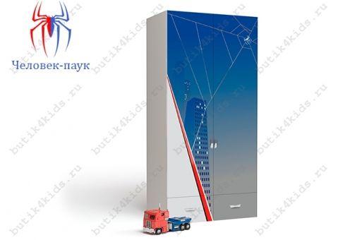 Двухдверный шкаф Человек-паук (Spider Man)