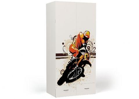 Двухдверный шкаф Moto Еxtreme