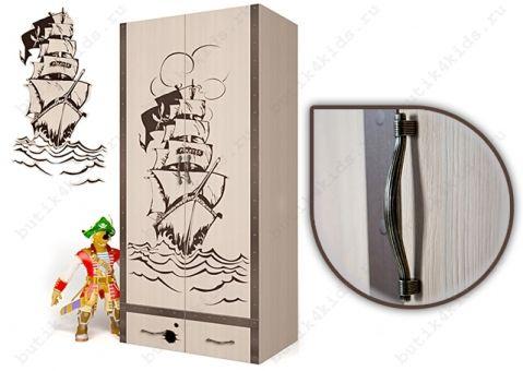 Двухдверный шкаф Пират Адвеста