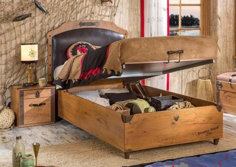 Кровать Black Pirate Cilek 20.13.1706.00 с подъемным механизмом