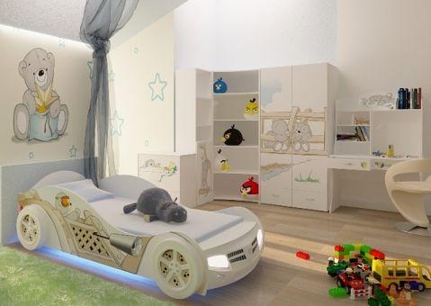 Кровать машина Мишки Адвеста