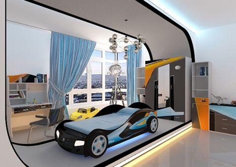 Кровать машина Pilot Advesta