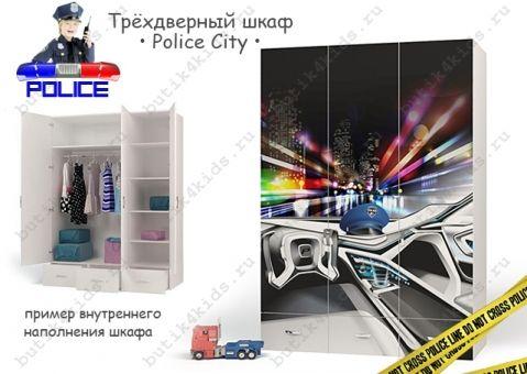 Шкаф Police City 3х дверный